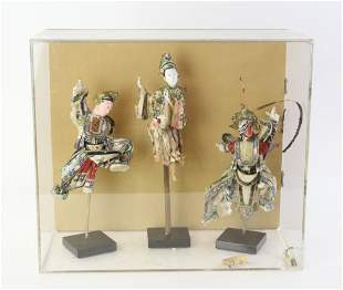 Chinese Puppets in Case