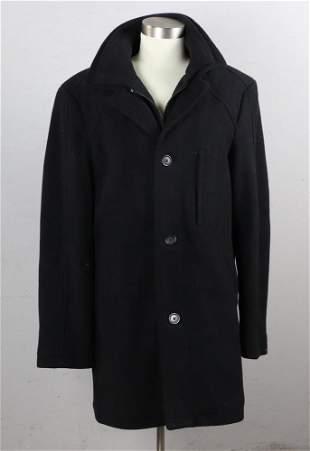 Ralph Lauren Ladies Black Wool Coat