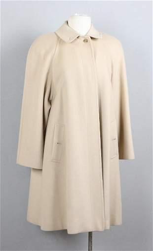 Ladies Burberry Wool Camel Coat
