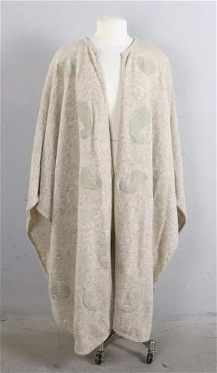 Christian Dior Sweater Cape