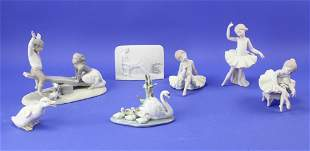 Figurines and Plaque Lladro