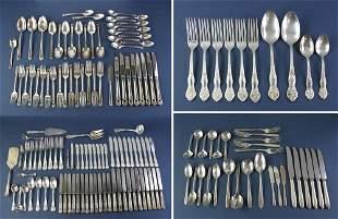 Sets of Silverplate Flatware
