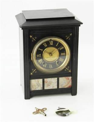 Antique Eastlake Victorian Marble Clock