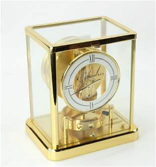 Jaeger-LeCoultre Atmos Clock, Labeled Tiffany