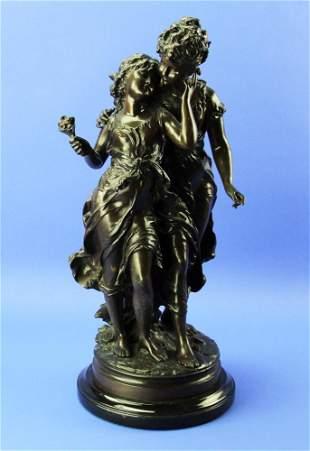 Moreau French Bronze Sculpture