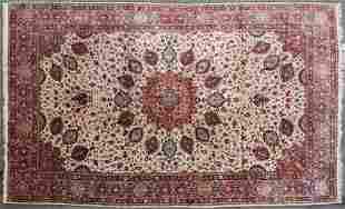 Antique Room-Size Persian Tabriz Rug