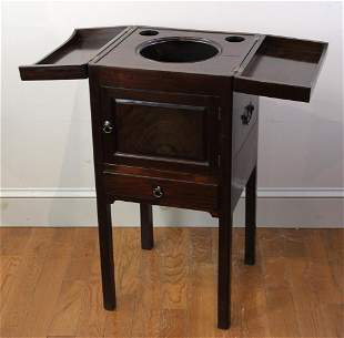 Early 19thC English Wash Stand Cabinet