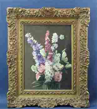 Simon Parks Floral Painting