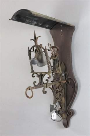 Bell Ringer Wrought Iron