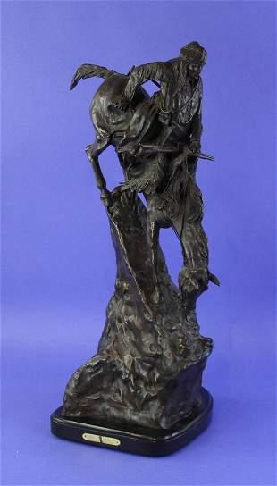 Frederic Remington Bronze Sculpture