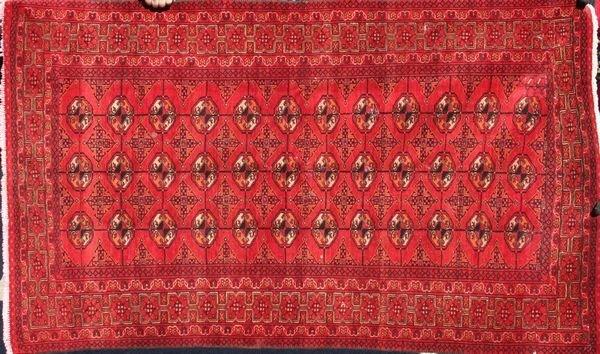 "8022A: Fine Bokhara rug, 6'2"" x 3'9"""