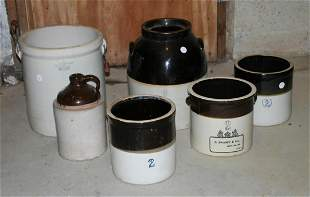 Grouping of American Stoneware