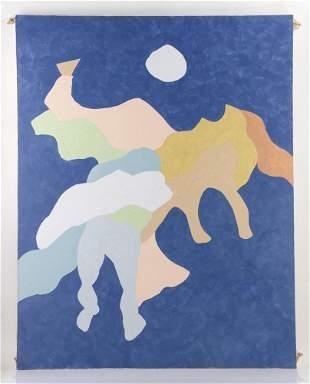 Jon Swan, Camino II, Oil on Canvas