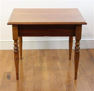 Victorian Eastlake Wood Table