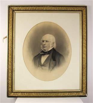 Ancestral Portrait, Watercolor and Pastel
