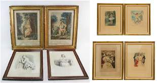 Group of Eight Artworks