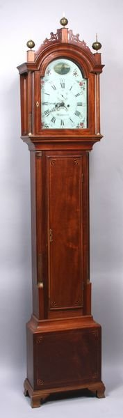 3123: Important Early 19th C. Grandfather Clock