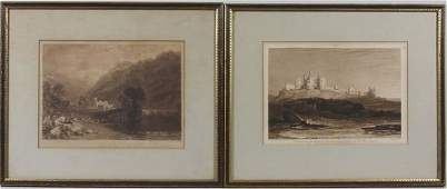 3354 Two Early 19th C British Engravings