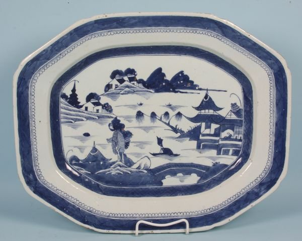 3002: 19th C. Chinese Export Platter