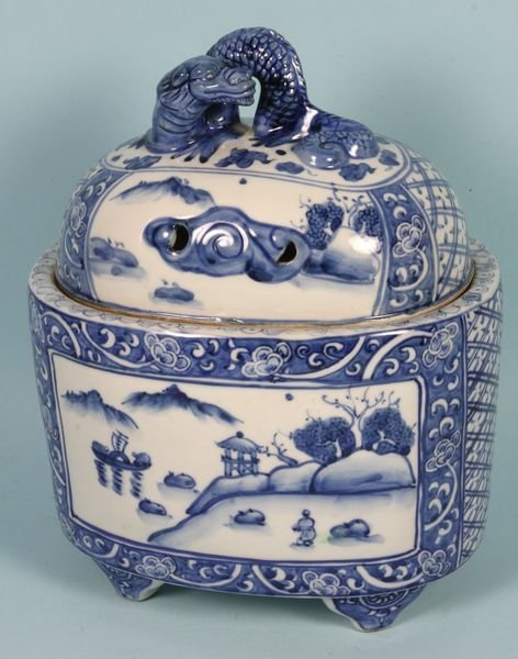 3005: Late 19th/Early 20th C. Chinese Pot
