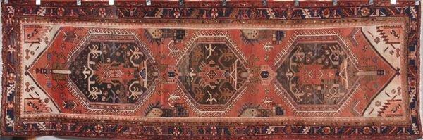 3007: Antique Persian Heriz rug