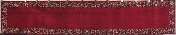 3023: Semi antique Persian Tabriz rug