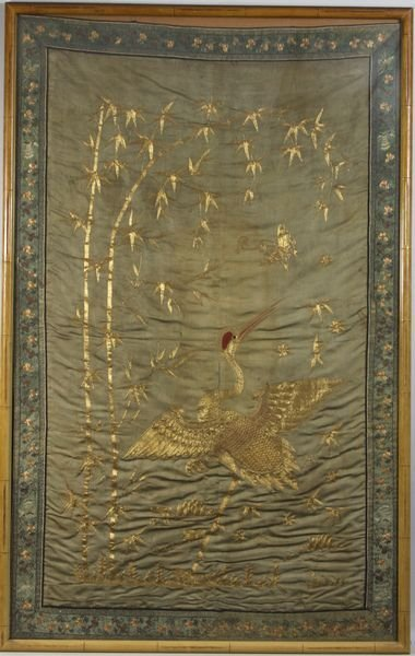 4010: 19th C. Chinese Tapestry