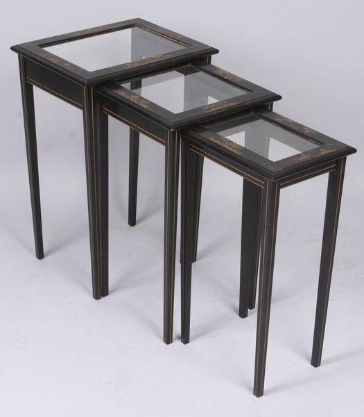 4023: Set of Three (3) Nesting Tables