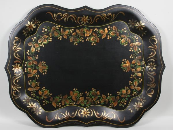 4005: Tole-style Tray By June Baskin