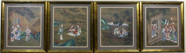 5007: Group of four (4) Early 20th C. Scrolls