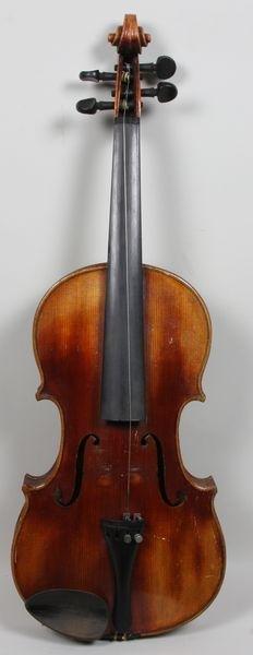 6264: 1920s/30s John Juzek Violin - 2
