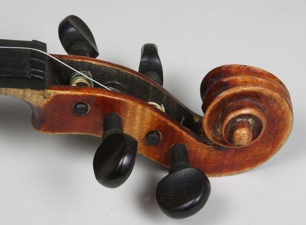 6264: 1920s/30s John Juzek Violin - 4