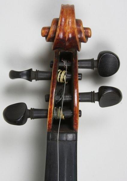 6264: 1920s/30s John Juzek Violin - 5