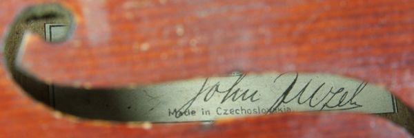6264: 1920s/30s John Juzek Violin - 7