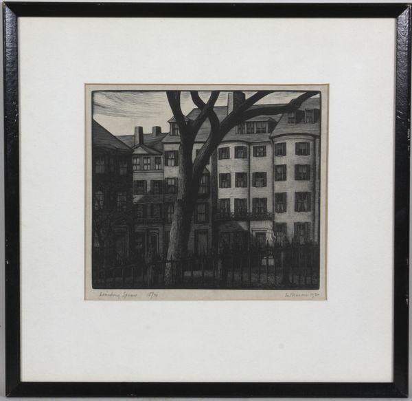 6012: Thomas Nason, Beacon Hill-Louisburg Square, Wood