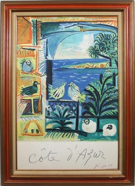 6020: Picasso, Pablo Lithograph by Henri Deschamps
