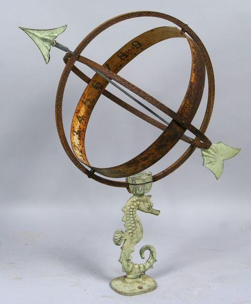 6001: Late 19th/early 20th C. Sundial