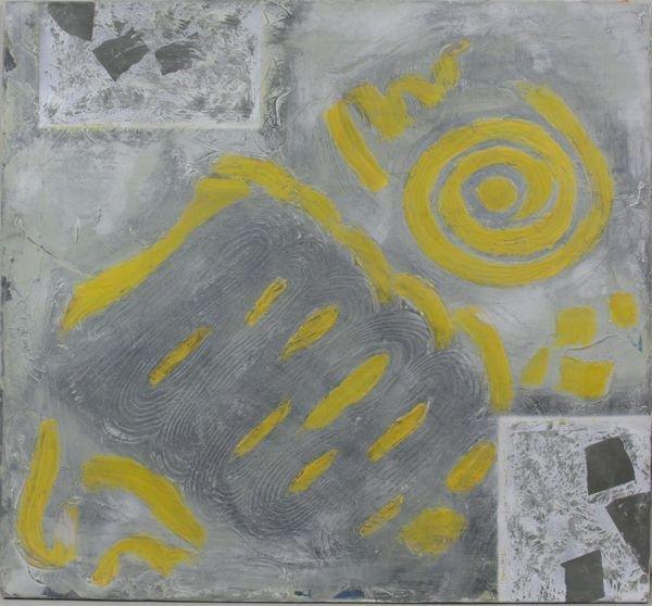 6009: 20th C. Abstract, O/C