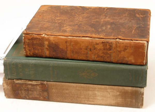 1415: 19TH/20TH C NATURE BOOKS BUTTERFLYS