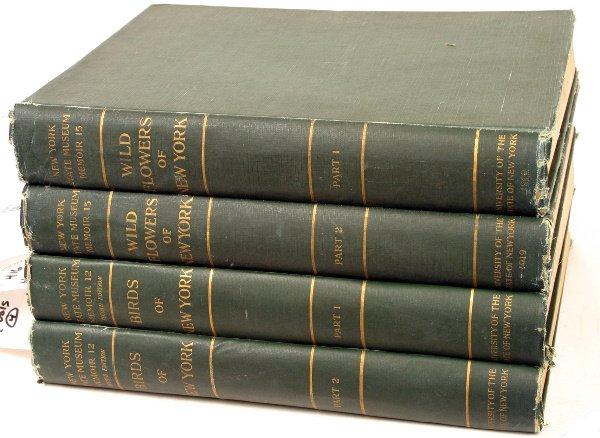 1416: NEW YORK BIRDS AND WILDFLOWERS 1910/1923