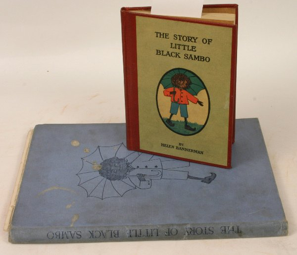 1432: TWO COPIES STORY OF LITTLE BLACK SAMBO