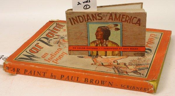 1433: TWO NATIVE AMERICAN CHILDREN'S ILLUS BOOKS 1935-6