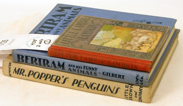 1435: THREE ILLUS CHILDREN'S BOOKS 1921-1938