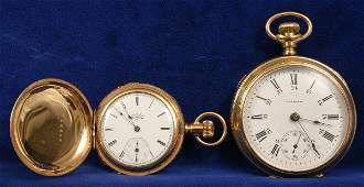 1651 TWO POCKET WATCHES EARLY 20TH CENTURY