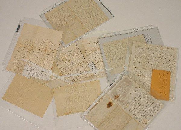 1679: NINE CIVIL WAR SOLDIERS LETTERS 1861-4