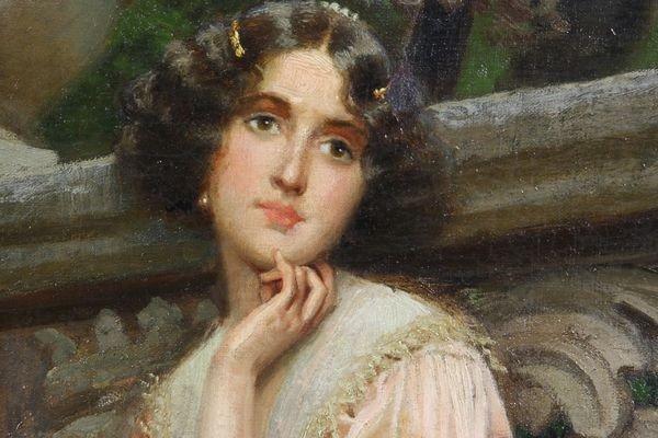 7263: Valentine Cameron Prinsep (1838-1904), Courtyard - 2