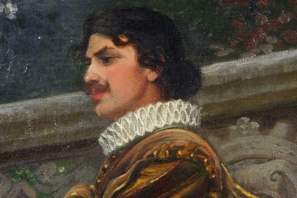 7263: Valentine Cameron Prinsep (1838-1904), Courtyard - 3