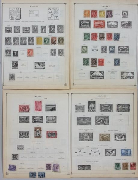 8022: Group of Canadian Stamps