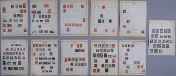 8023: Group of Australian and Austrian stamps