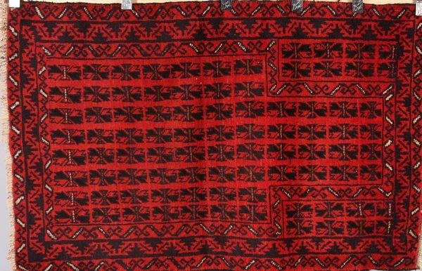 8010A: Hand Woven Tribal Rug